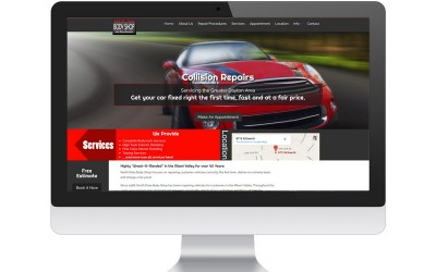 North Dixie Auto Body Website