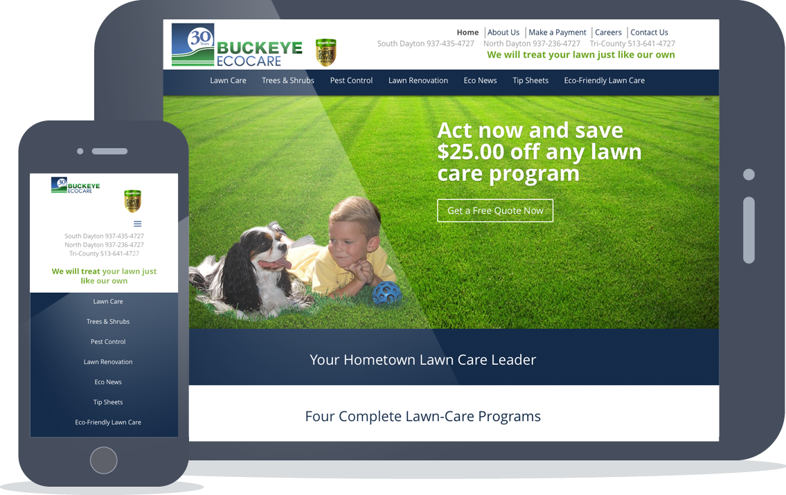 Buckeye EcoCare Website Dayton Ohio